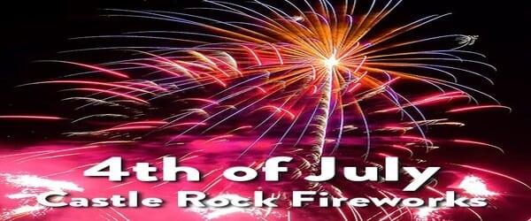 Fireworks in Castle Rock