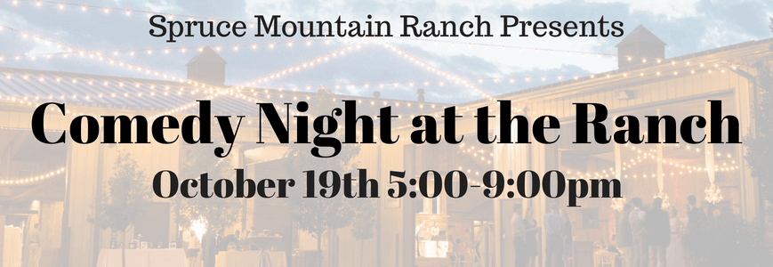 Comedy Night at Spruce Mountain Ranch Featuring Marcus & Guy