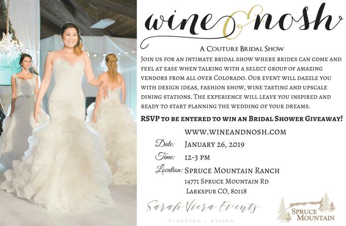 2019 Wine & Nosh Bridal Show