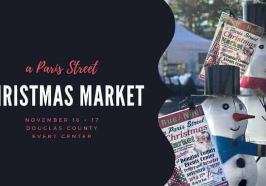 A Paris Street Christmas Market