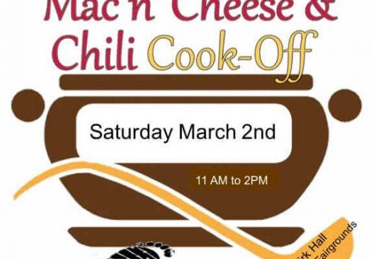 Mac 'n' Cheese & Chili Cook-Off