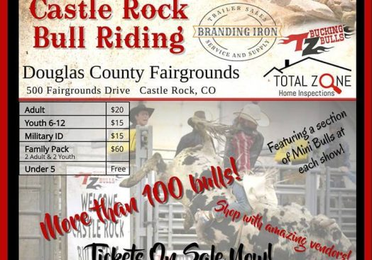 Castle Rock Bull Riding