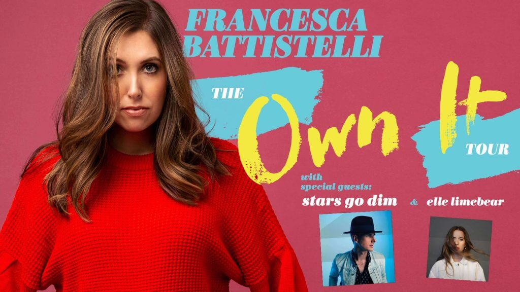 "Francesca Battistelli LIVE in Denver ""The Own ItTour"""