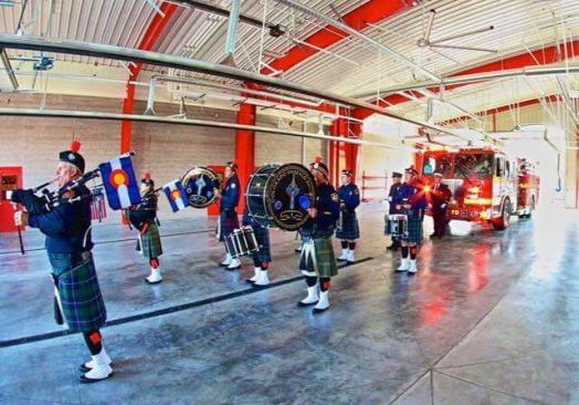 Castle Rock Fire Department Pipes and Drums