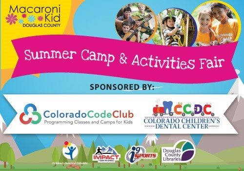 2019 Macaroni Kid Douglas County Summer Camp & Activities Fair