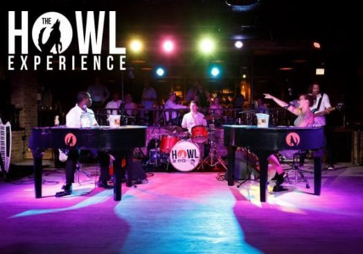 First Fridays: Dueling Pianos–The Howl Experience