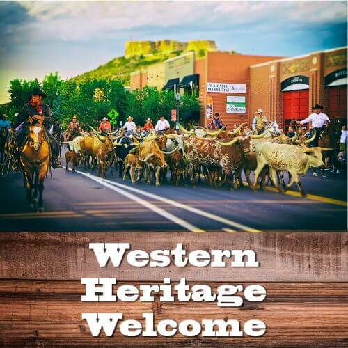 Western Heritage Welcome Steer Drive