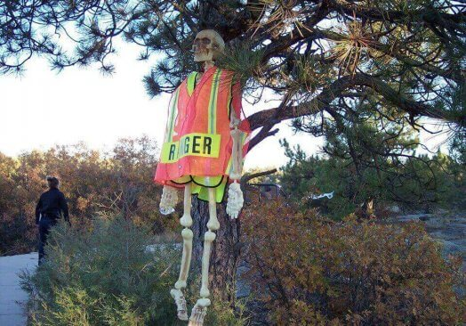 Castlewood Canyon Haunted Trails