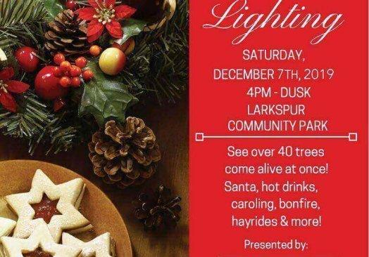 Larkspur Tree Lighting 2019