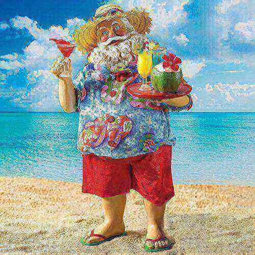 Christmas in July – Stumblin Santa